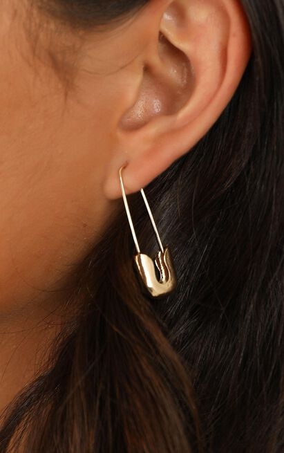 Find Someone Earrings In Gold, , hi-res image number null
