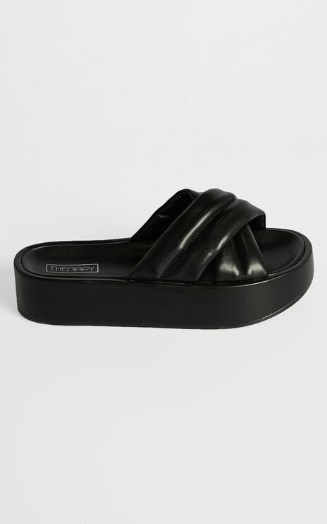 Therapy - Heir Slides in Black