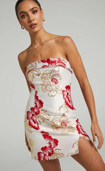 Prem The Label - Skye Dress in Red Floral