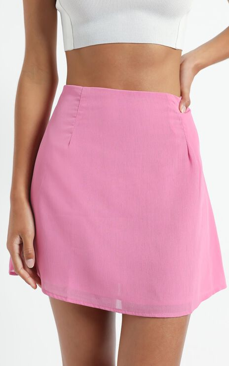 Only Offer Skirt in Pink
