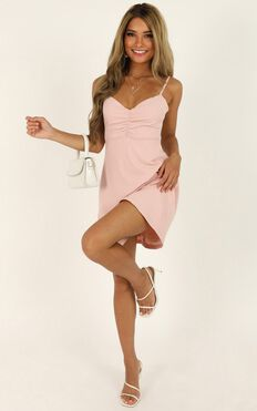 Master Lesson Dress In Blush