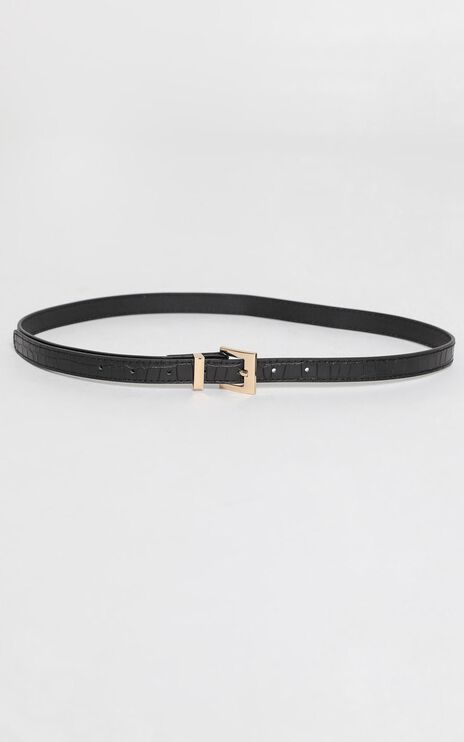 Night Whispers Belt in Black and Gold
