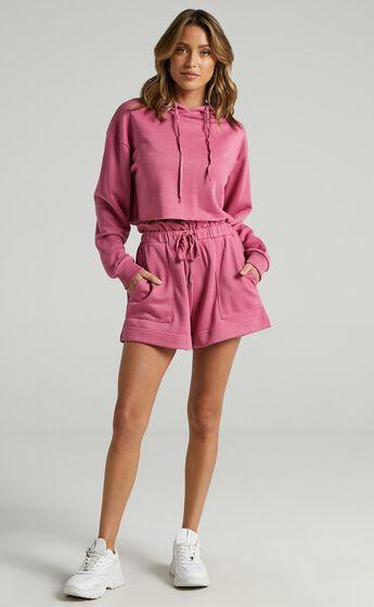 Mackinley Hoodie in Pink