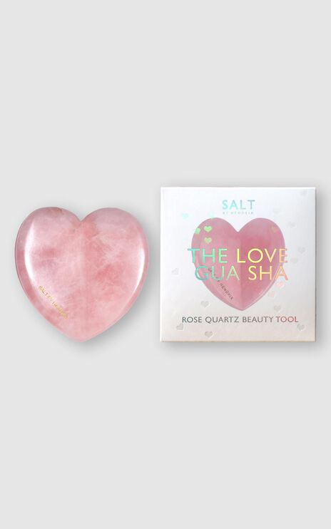 Salt By Hendrix - Rose Quartz Love Gua Sha in Rose