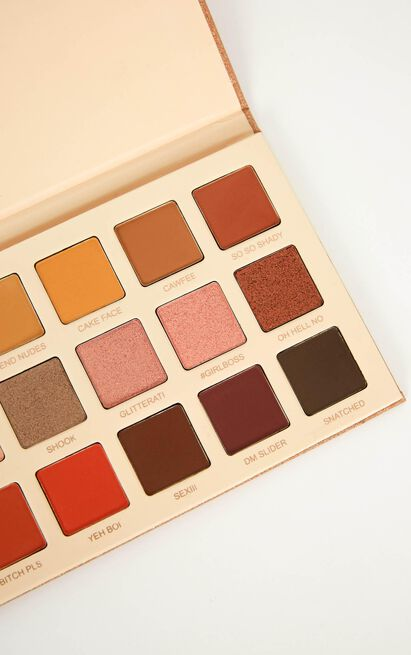 Showpo x Glamierre - Eyeshadow Palette, , hi-res image number null