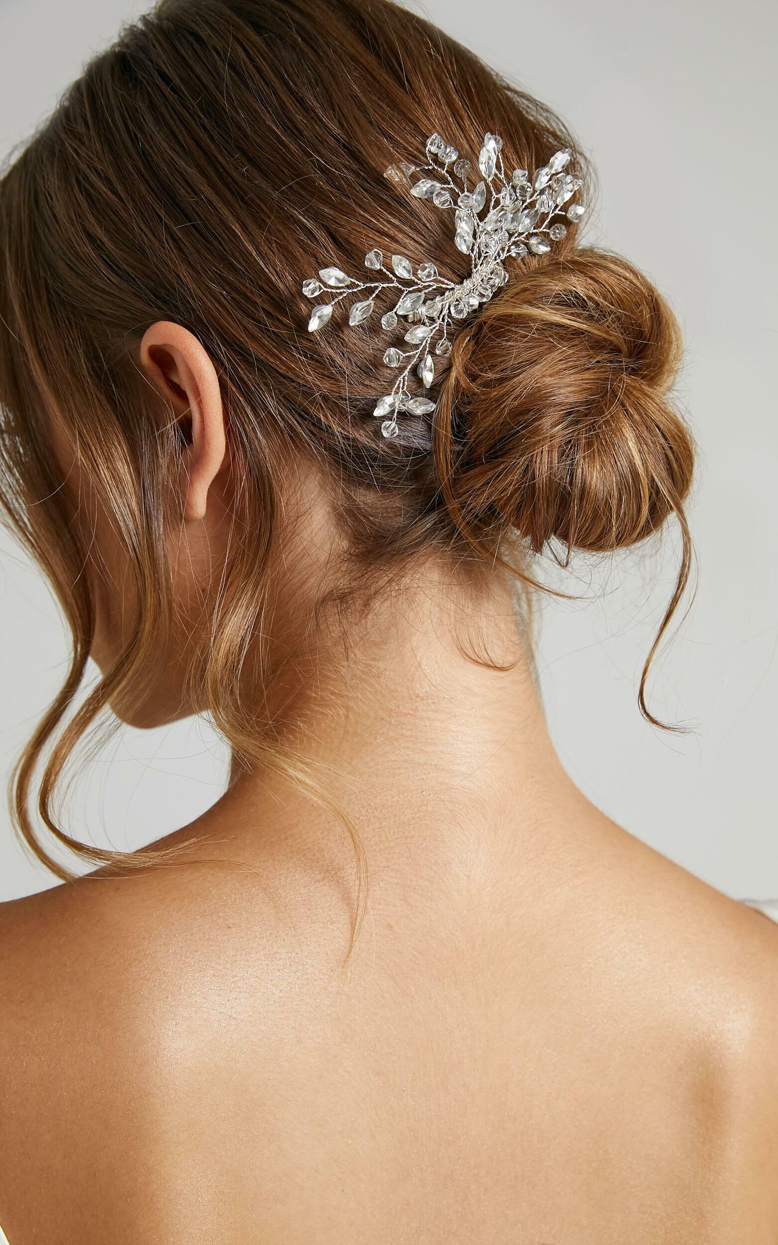 Stand By You Hair Piece in Silver, SLV1, super-hi-res image number null