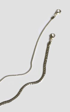 Total Connection Chain Necklace In Gold