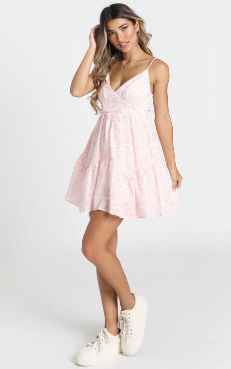 Lagos Dress In Pink