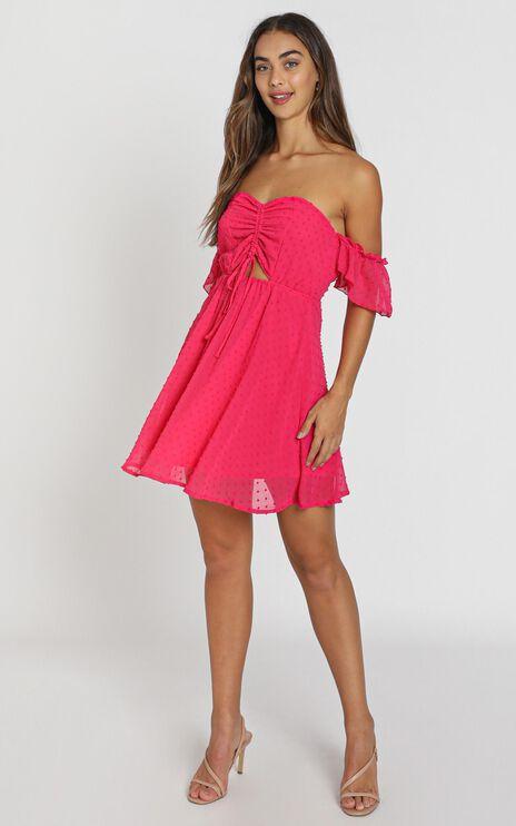 Nevis Dress in Berry