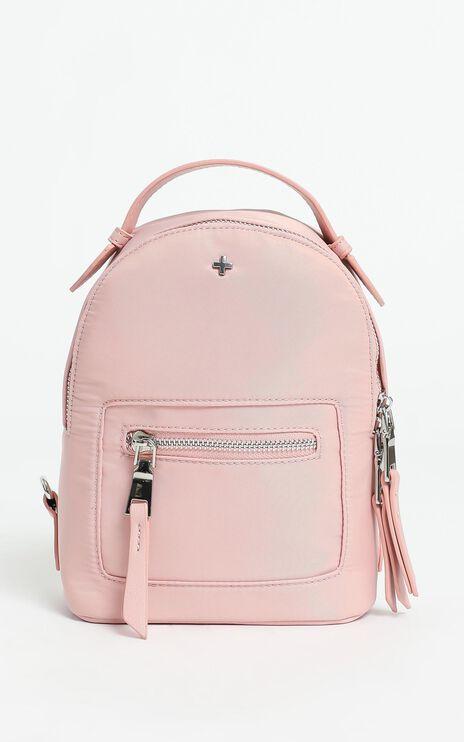 Peta and Jain - Zoe Mini Backpack in Pink Nylon