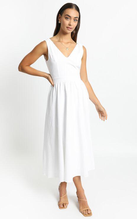 Carrington Dress in White