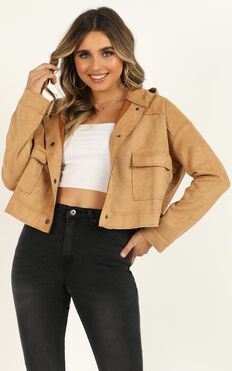 If You Want This Jacket In Tan