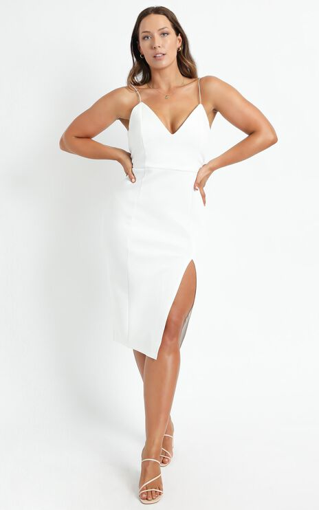 Big Ideas Dress in White