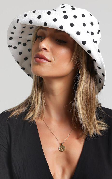 Arlette Hat in Polka Dot