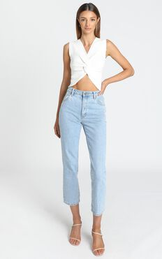 Kael Top in White
