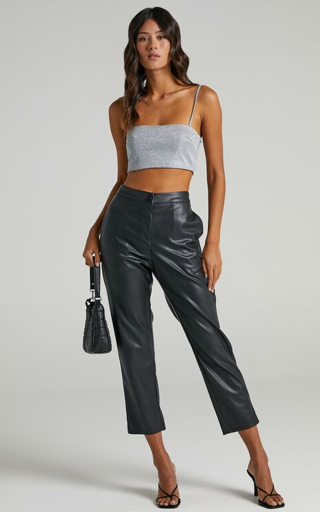 Isolde Top in Silver