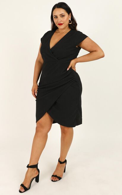 Quick Decider Dress in black - 20 (XXXXL), Black, hi-res image number null