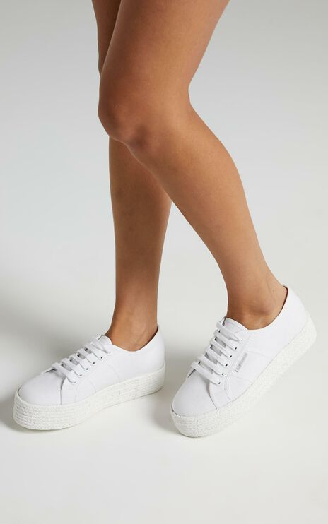 Superga - 2790 COT Color Rope in total white