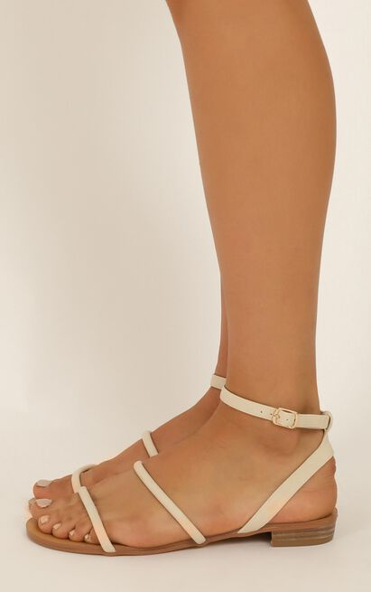 Billini - Uriel sandals in stone nubuck - 10, Beige, hi-res image number null