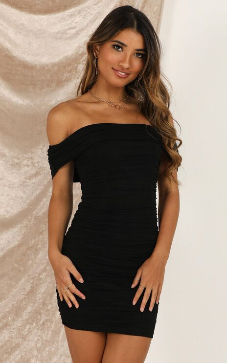 Dusk And Dawn Dress In Black