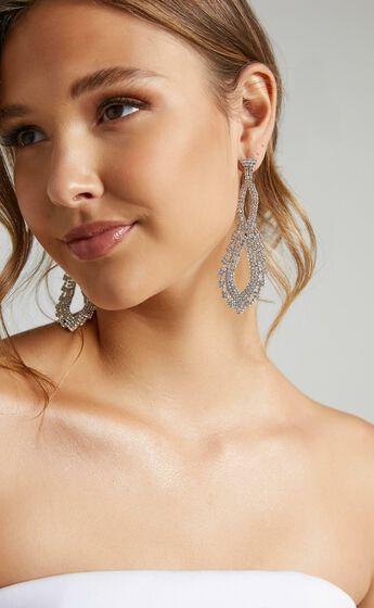Love Story Earrings in Silver