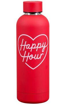 YES Studio: Water bottle - Happy Hour