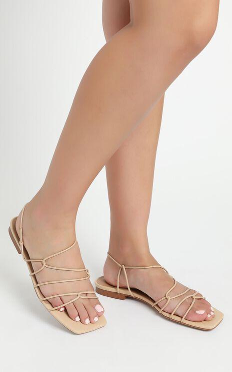 Alias Mae - Greta Sandals in Natural Leather