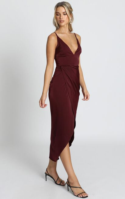 Shes A Dreamer Dress in wine - 20 (XXXXL), Wine, hi-res image number null