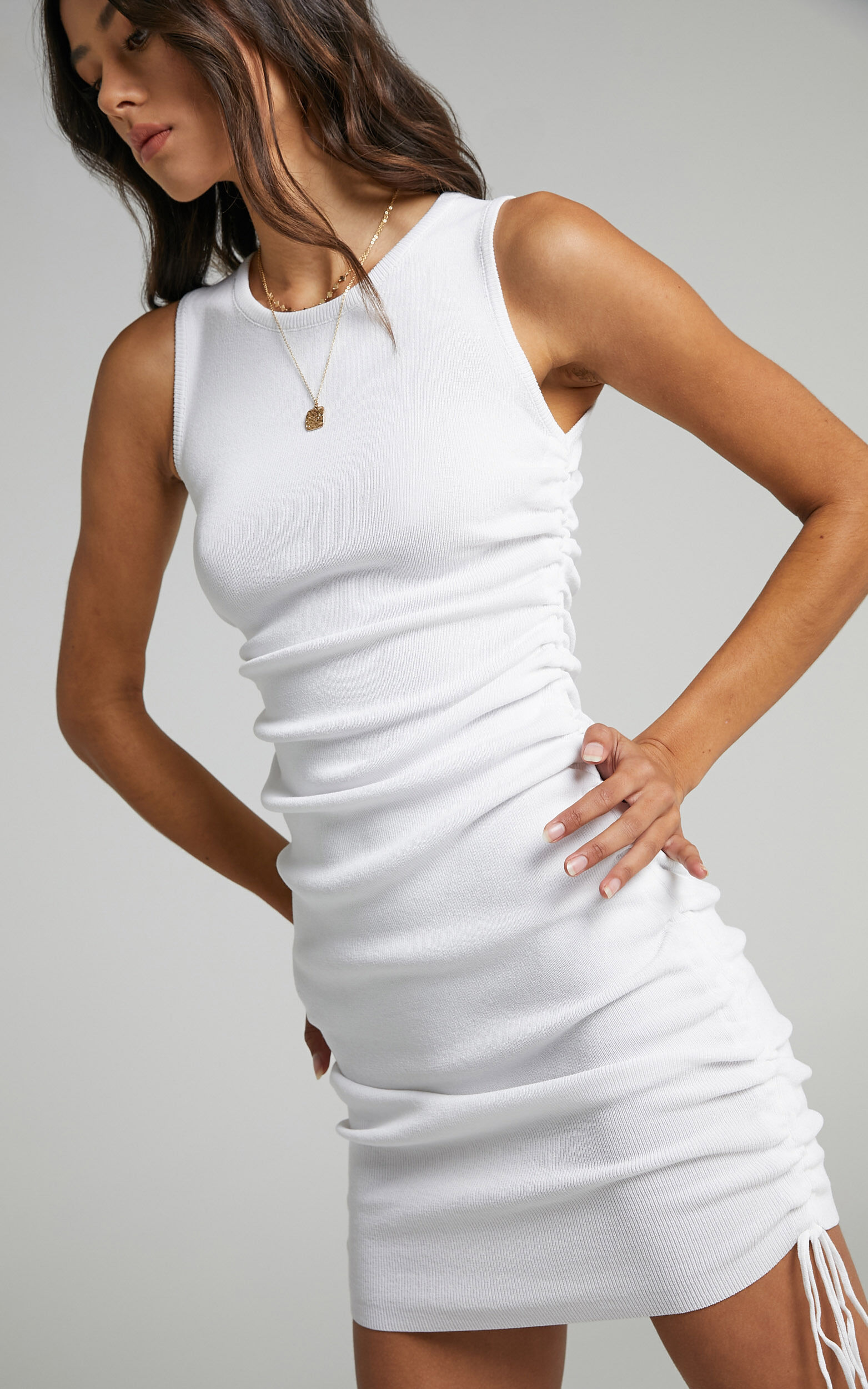 Lioness - Military Minds Dress in White - 12, WHT11, super-hi-res image number null