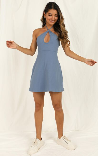 Mostly Together Dress in blue - 20 (XXXXL), Blue, hi-res image number null
