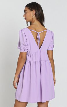 Hermione Dress in Purple