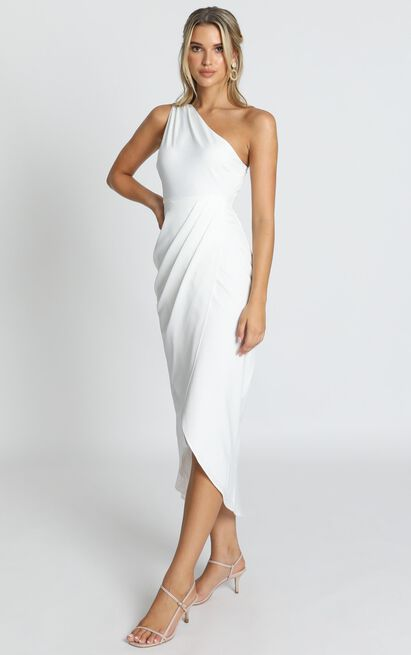 Felt So Happy Dress in white - 14 (XL), White, hi-res image number null