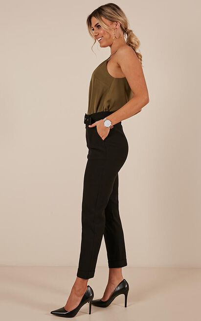 The Cool Girl Pants in black - 14 (XL), Black, hi-res image number null