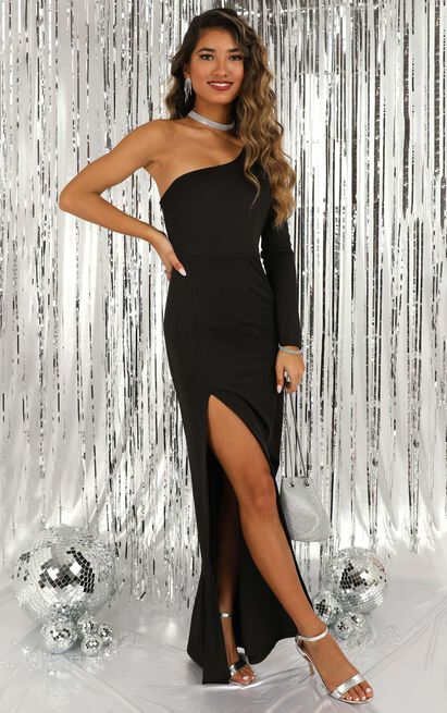 Carry Me Out Dress in black - 20 (XXXXL), Black, hi-res image number null