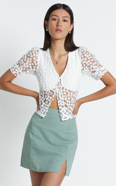 Cici Top in White