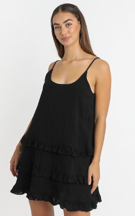 Long Reflections Dress in Black