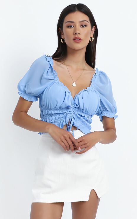 Lylou Top in Blue