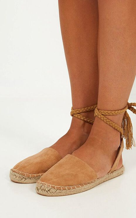Therapy - Eperney Espadrilles In Camel Micro