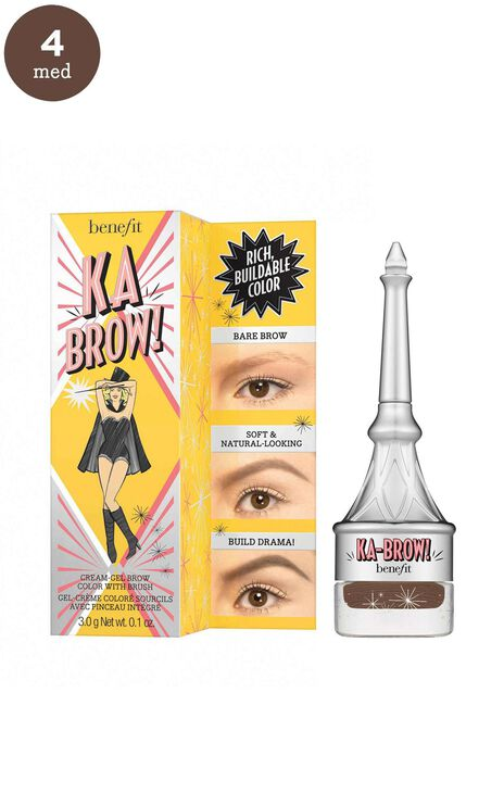 Benefit Cosmetics - Ka-BROW! Eyebrow Cream-Gel Colour in 4 - Warm Deep Brown