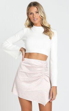 Christella Skirt in Pink