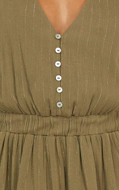 Burning Fire Dress in khaki - 14 (XL), Khaki, hi-res image number null