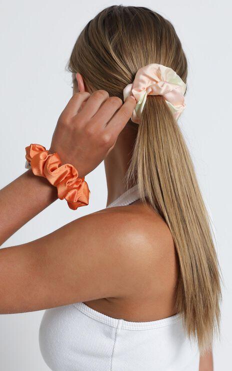 Faded Tie Dye Scrunchie 2 Pack