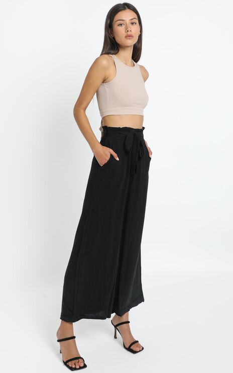 Ame Pants in Black