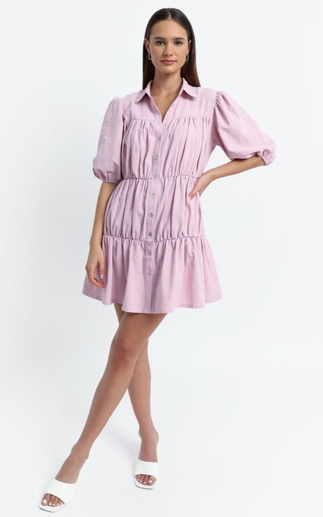 Bijou Dress in Pink