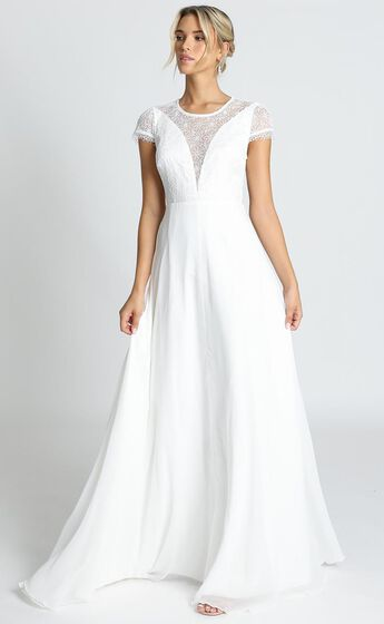 Everlasting Gown In White
