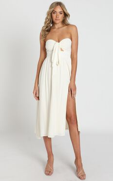 French Riviera Dress In Natural
