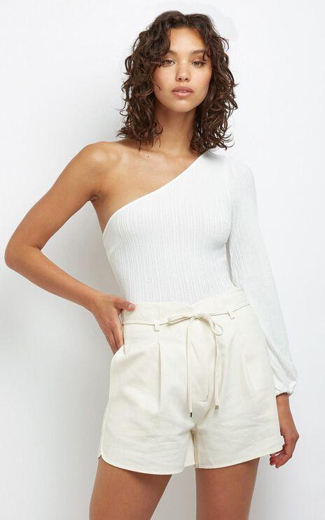 Aurora Bodysuit in  White