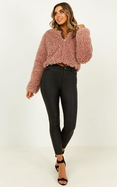 Keeping Cosy Jacket In Blush