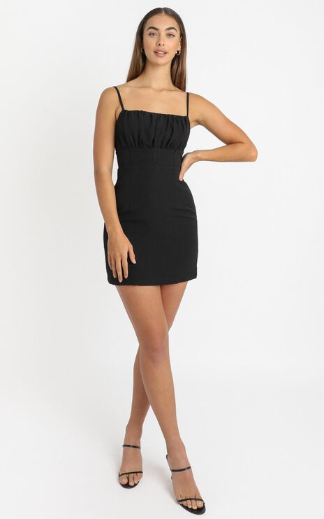 Reece Dress in Black