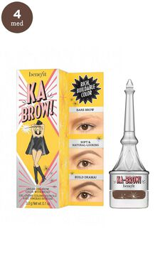 Benefit - Ka-BROW! Eyebrow Cream-Gel Colour In 4 - Warm Deep Brown